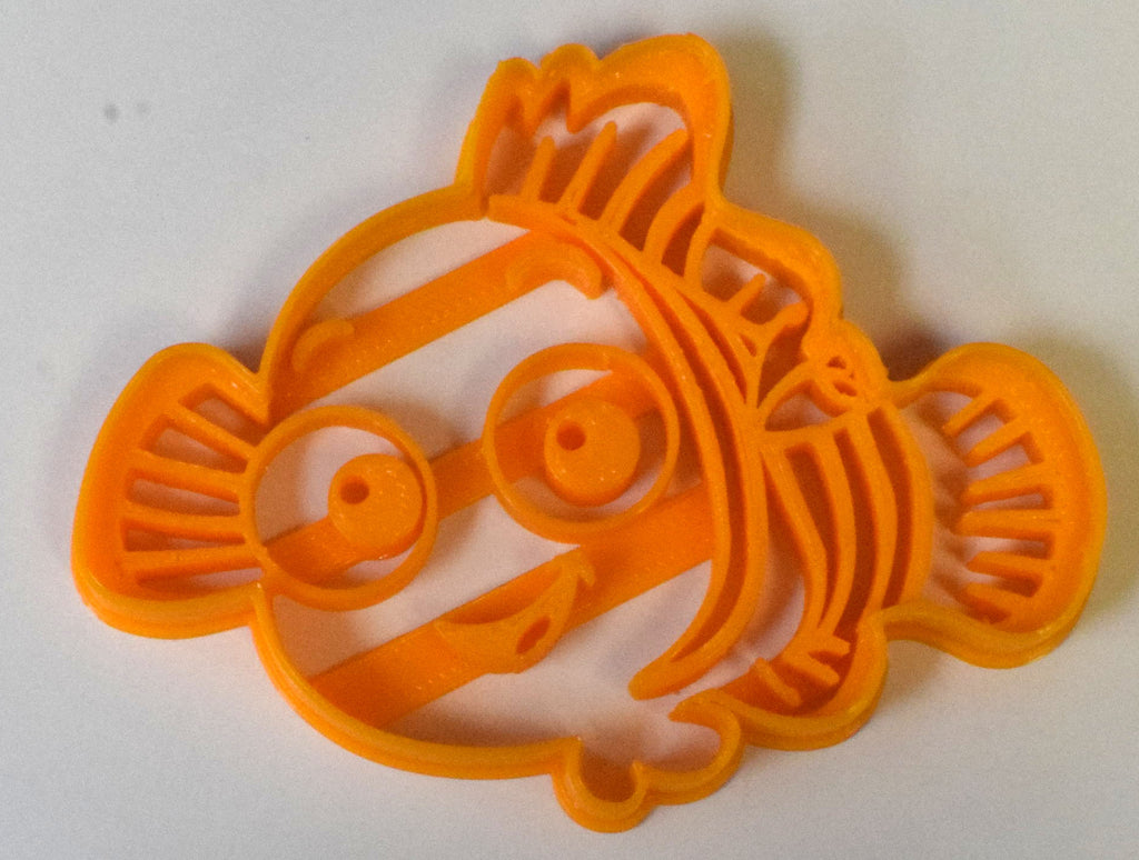 "Finding Nemo Disney Pixar Movie Character Fish Special Occasion Fondant Stamp Cutter or Cupcake Topper Size 1.75"" Made in USA FD523"
