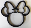 "6x Minnie Mouse Head With Bow Fondant Cutter Cupcake Topper Size 1.75"" USA FD530"