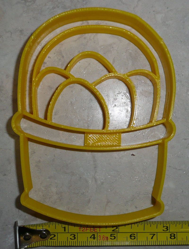 Easter Egg Basket Farm Eggs Bunny Treat Spring Season Cookie Cutter USA PR2444