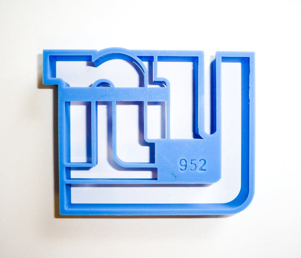 New York Giants NFL Football Logo Special Occasion Cookie Cutter Baking Tool 3D Printed Made In USA PR952