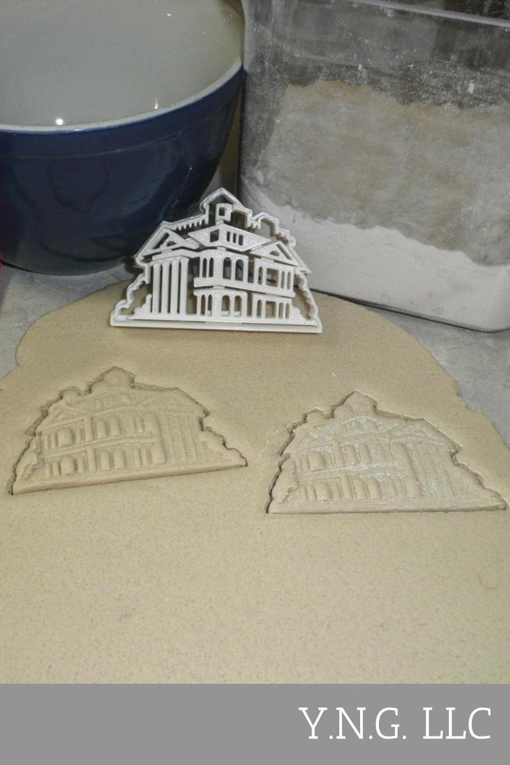 The Haunted Mansion Movie Characters Logo Set Of 7 Cookie Cutters USA PR1168