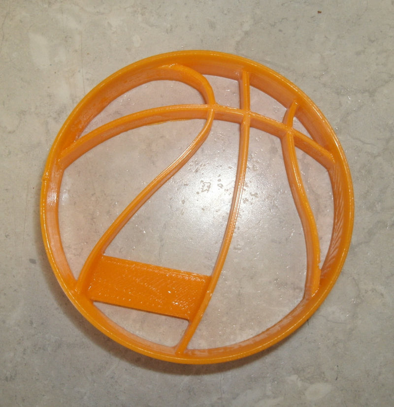 Basketball Sports Team Special Occasion Cookie Cutter Baking Tool Made in USA PR812