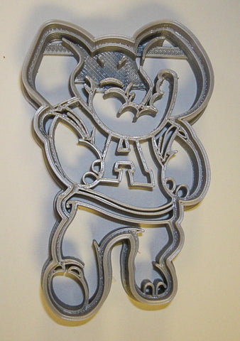 "Georgia Bulldogs NCAA D1 Football Sports Logo Special Occasion Fondant Stamp Cutter Or Cupcake Topper Size 1.75"" Made In USA FD991"