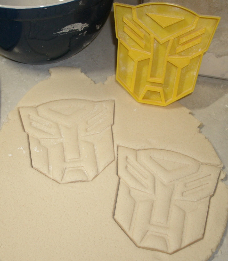 Transformers Autobot Decepticon Bumblebee Set Of 3 Cookie Cutters USA PR1004