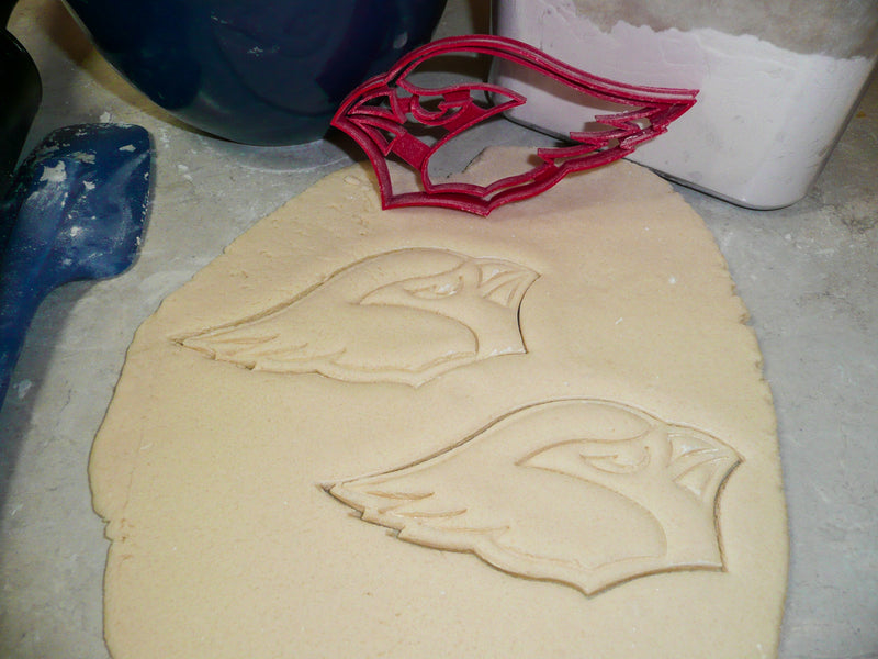 Arizona Cardinals NFL Football Logo Special Occasion Cookie Cutter Baking Tool Made In USA PR944