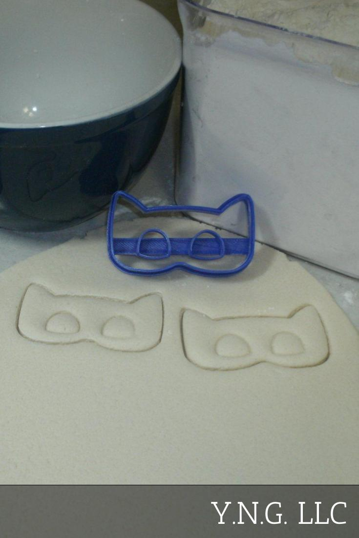 Catboy Cat Boy PJ Masks Character Special Occasion Cookie Cutter Baking Tool Made in USA PR782