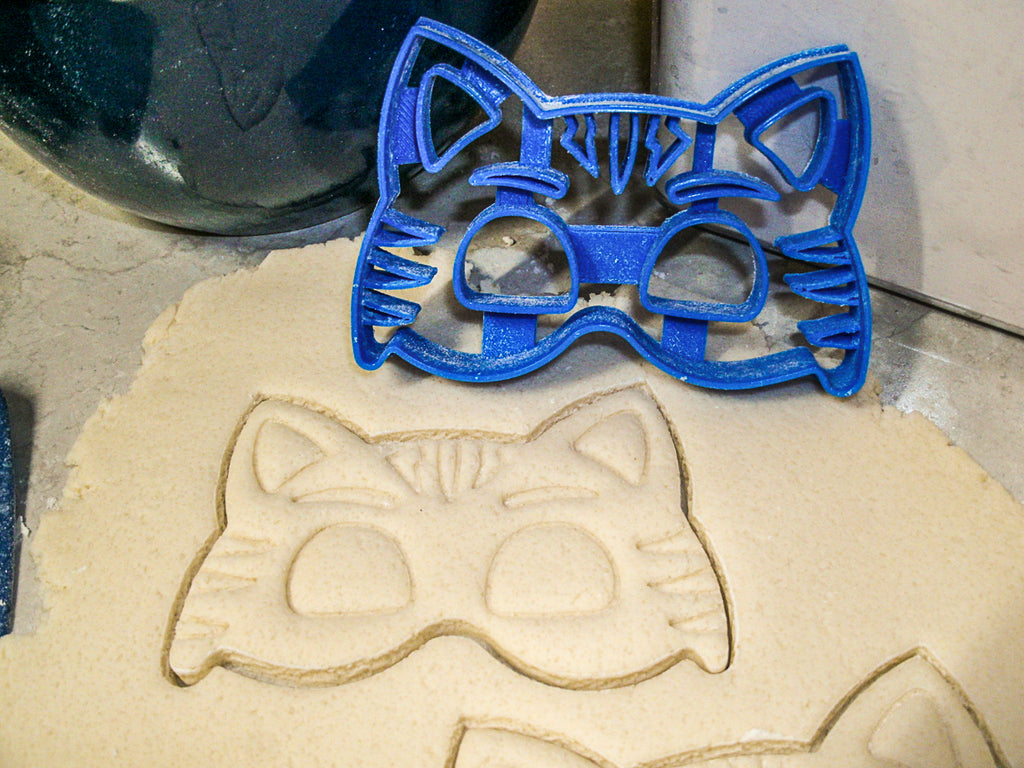 PJ Masks Detailed Kids Cartoon Superheroes Set Of 3 Cookie Cutters USA PR1053