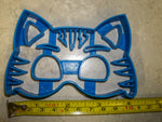 Catboy Cat Boy Mask with Details PJ Masks Kids TV Show Character Special Occasion Cookie Cutter Baking Tool Made in USA PR826