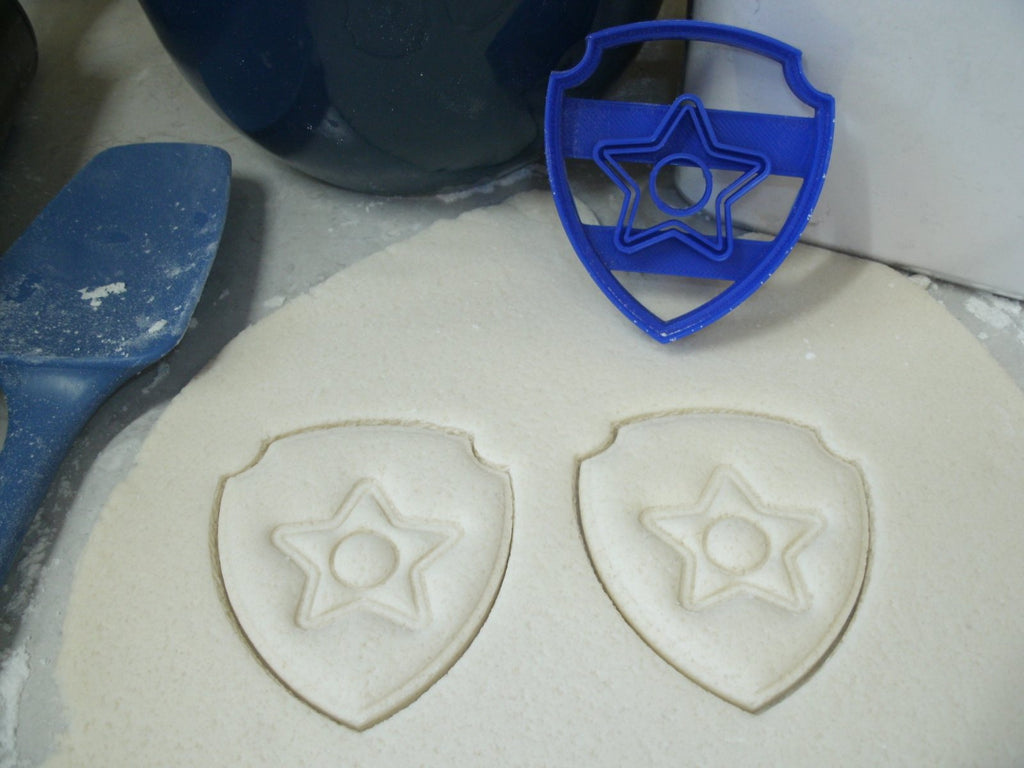 Paw Patrol Logos Badges Tags Shields Set of 10 Special Occasion Cookie Cutters Baking Tool USA PR1048