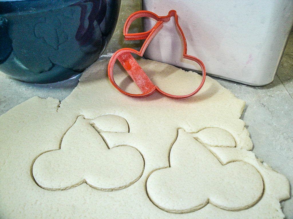 Pac-man Pacman Ghost Cherry Set Of 3 Special Occasion Cookie Cutters Baking Tool Made In USA PR1074