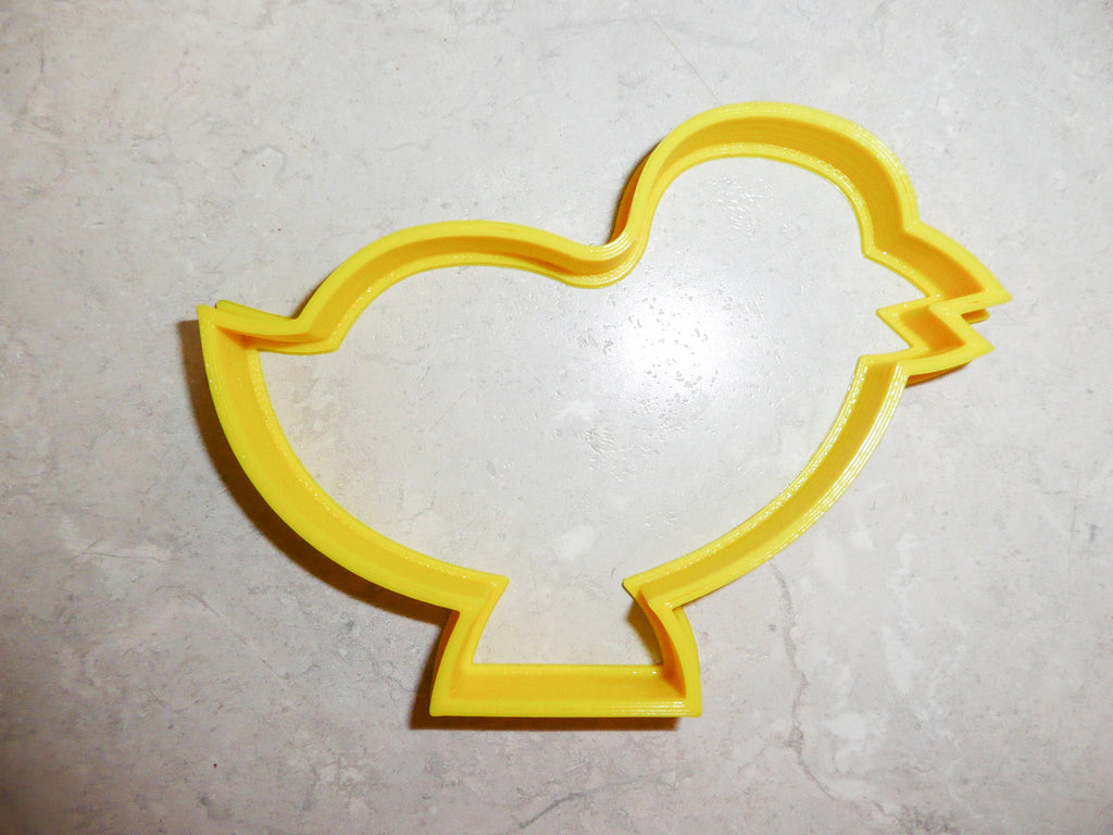 "Easter Chick Baby Chicken Spring Holiday Special Occasion Fondant Stamp Cutter or Cupcake Topper Size 1.75"" Made in USA FD218"