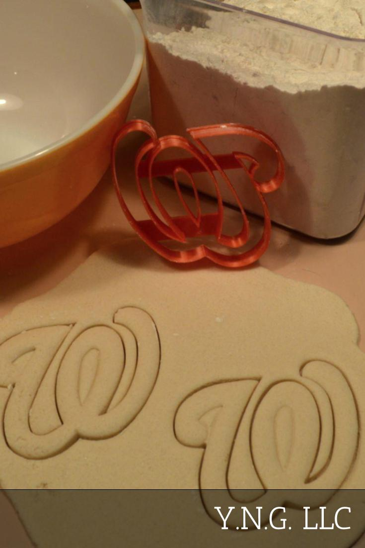Washington Nationals MLB Baseball Team Logo Set Of 7 Cookie Cutters USA PR1295