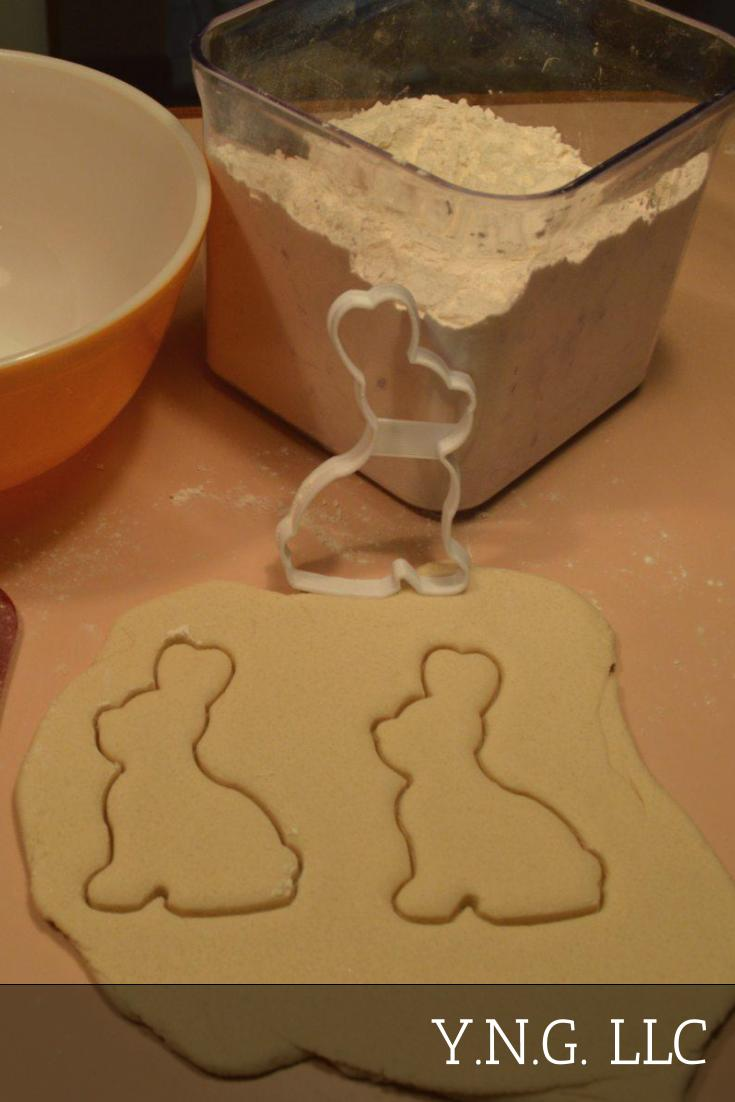 Rabbit Body Outline Easter Bunny Spring Season Animal Cookie Cutter USA PR2650