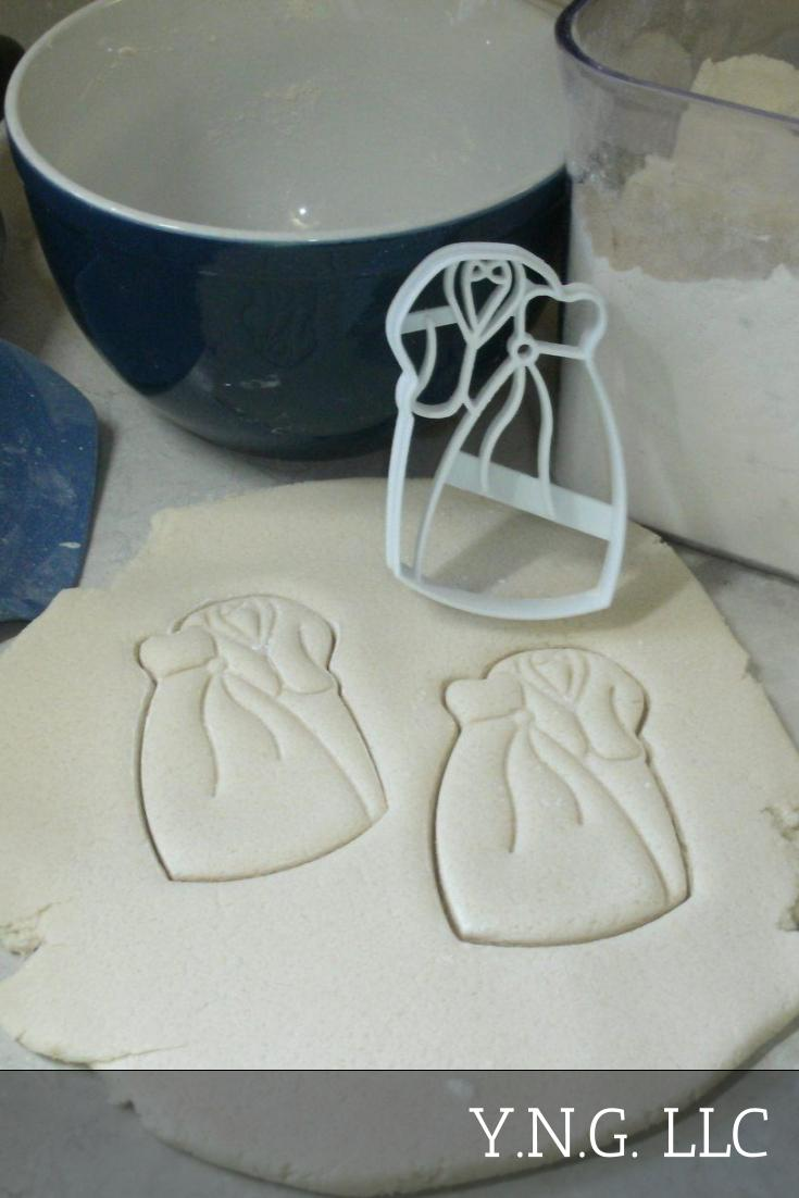 Wedding Doves Ceremony Unity Union Symbol Set Of 4 Cookie Cutters USA PR1324