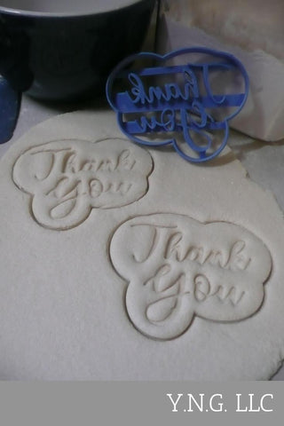 Number Four 4 Outline Fancy Word Birthday Anniversary Cookie Cutter USA PR3004