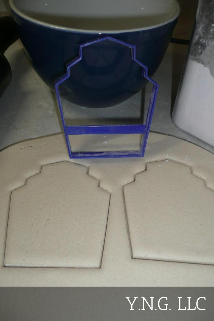 Gatsby Style Frame Plaque 1920s Roaring 20s Twenties Cookie Cutter USA PR3258
