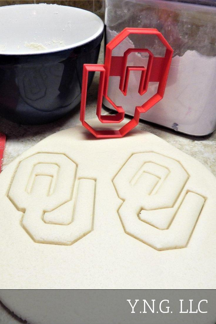 University Of Oklahoma Sooners OU NCAA Team Sports Athletics Special Occasion Cookie Cutter Baking Tool Made In USA PR2272