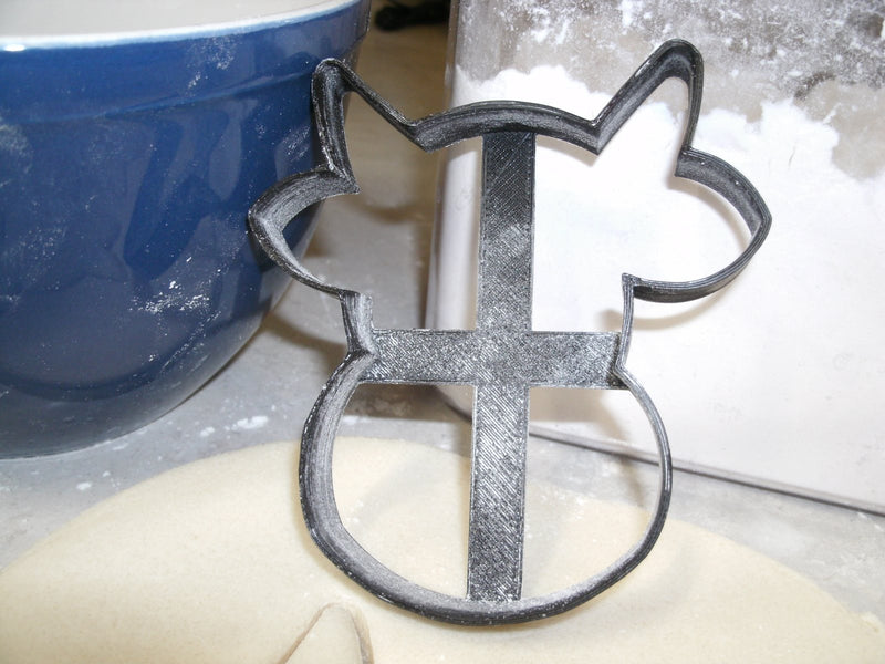 Cow Cattle Bovine Head Special Occasion Cookie Cutter Baking Tool Made in USA PR672