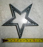 Dallas Cowboys Star NFL Football Logo Special Occasion Cookie Cutter Baking Tool 3D Printed Made In USA PR936