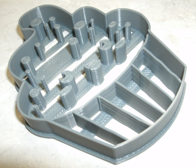 Cupcake Small Cake Birthday Wedding Special Occasion Cookie Cutter Baking Tool Made in USA PR618