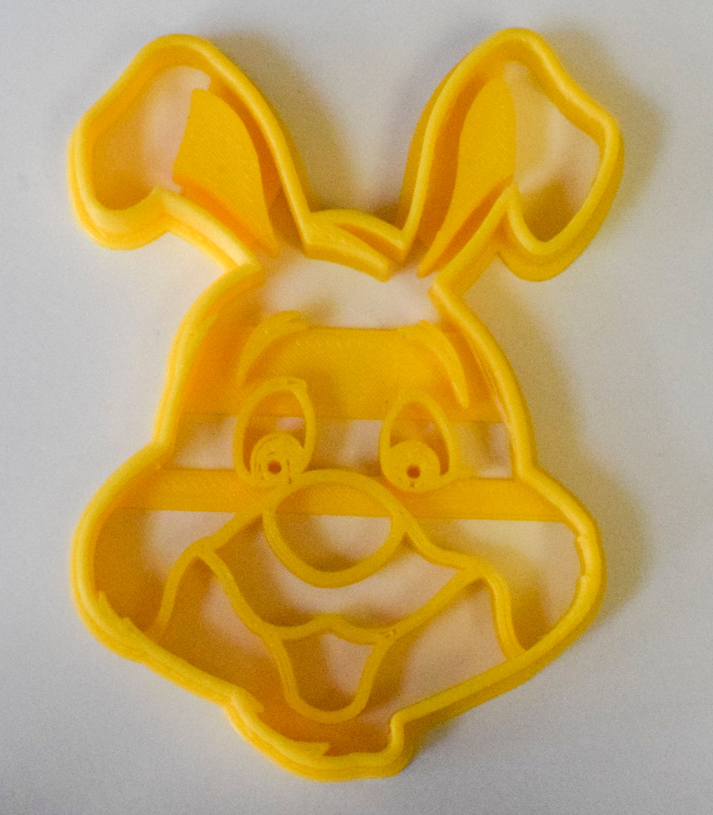 "Rabbit Winnie the Pooh Disney Cartoon Special Occasion Fondant Stamp Cutter or Cupcake Topper Size 1.75"" Made in USA FD795"