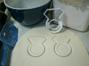 50th 50 Year Wedding Anniversary Vow Renewal Set Of 4 Cookie Cutters USA PR1352