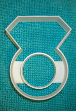 "6x Diamond Ring Engagement Fondant Cutter Cupcake Topper Size 1.75"" USA FD824"