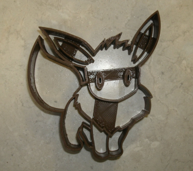 Eevee Pokemon Go Nintendo Video Game Character Special Occasion Cookie Cutter Baking Tool Made in USA PR808