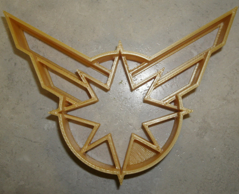 Captain Marvel Superheroes Logo Comic Book Movie Characters Special Occasion Cookie Cutter Baking Tool 3D Printed Made In USA PR846
