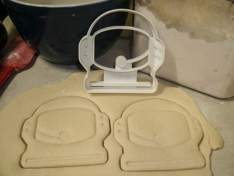 Astronaut Space Helmet Special Occasion Cookie Cutter Baking Tool 3D Printed Made In USA PR847
