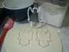 Angel Religious Spiritual Celestial Being Wings Special Occasion Cookie Cutter Baking Tool 3D Printed Made In USA PR887