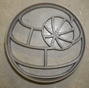 Death Star Space Station Empire Star Wars Movie Special Occasion Cookie Cutter Baking Tool 3D Printed Made In USA PR888