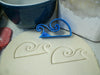 Ocean Waves Beach Lake Sea Surf Special Occasion Cookie Cutter Baking Tool 3D Printed Made In USA PR891