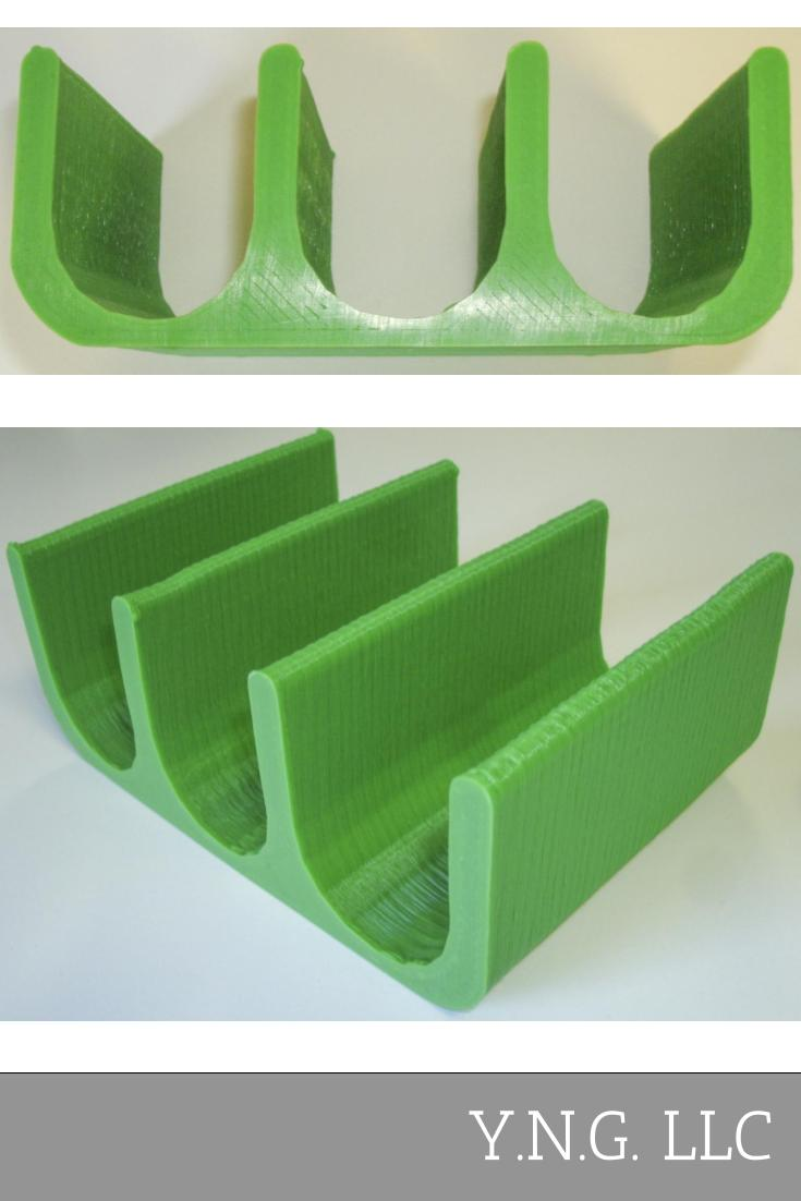 Taco Shell Stand Holder Taco Tuesday Truck Tray Display Rack Holders 3D Printed Made in the USA PR494