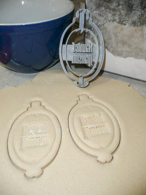 Mirror From The Haunted Mansion Fantasy Mystery Movie Special Occasion Cookie Cutter Baking Tool 3D Printed Made In USA PR967