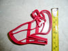 High Heel Shoe Girls Women Lady Fashion Bachelorette Party Special Occasion Cookie Cutter Baking Tool Made In USA PR263