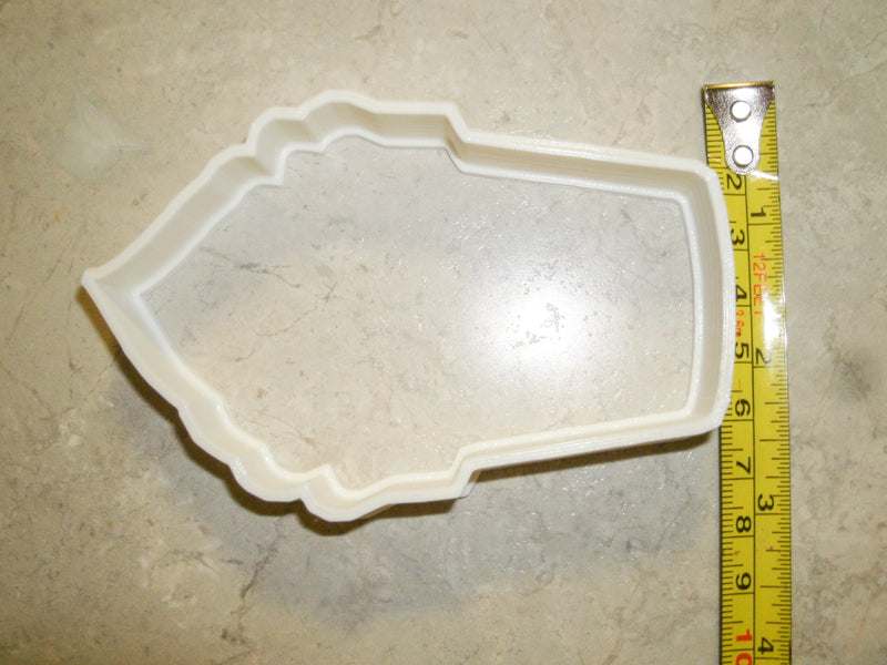 Ice Cream Cone Frozen Yogurt Special Occasion Cookie Cutter Baking Tool Made In USA PR267