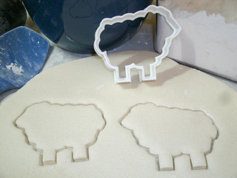 Farm Animals Pig Cow Chick Lamb Horse Rooster Set Of 6 Special Occasion Cookie Cutters Baking Tool Made In USA PR1108