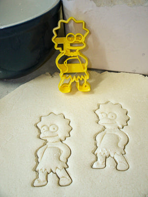 The Simpsons Animated Comedy Tv Show Cartoon Characters Set Of 5 Special Occasion Cookie Cutter Baking Tool USA PR1059