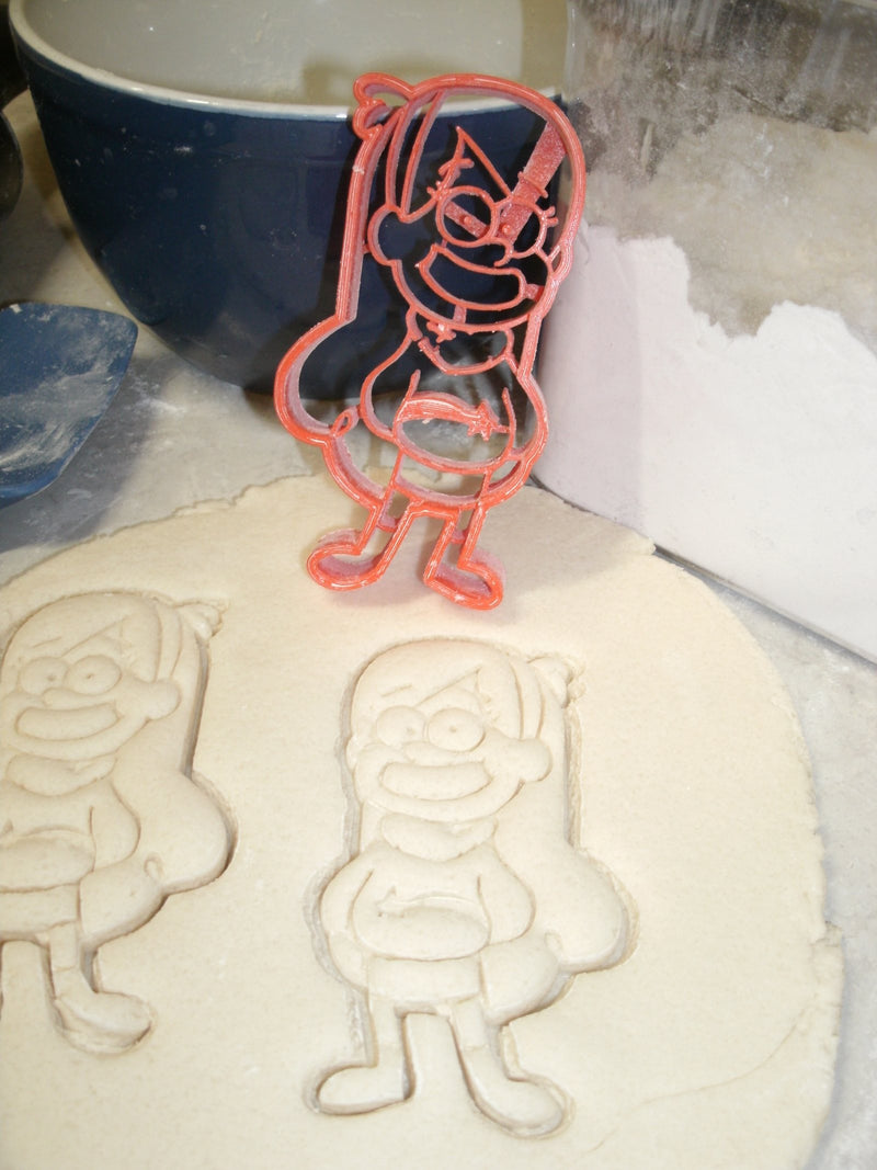 Mabel Pines Gravity Falls Disney Cartoon Character Special Occasion Cookie Cutter Baking Tool Made in USA PR640
