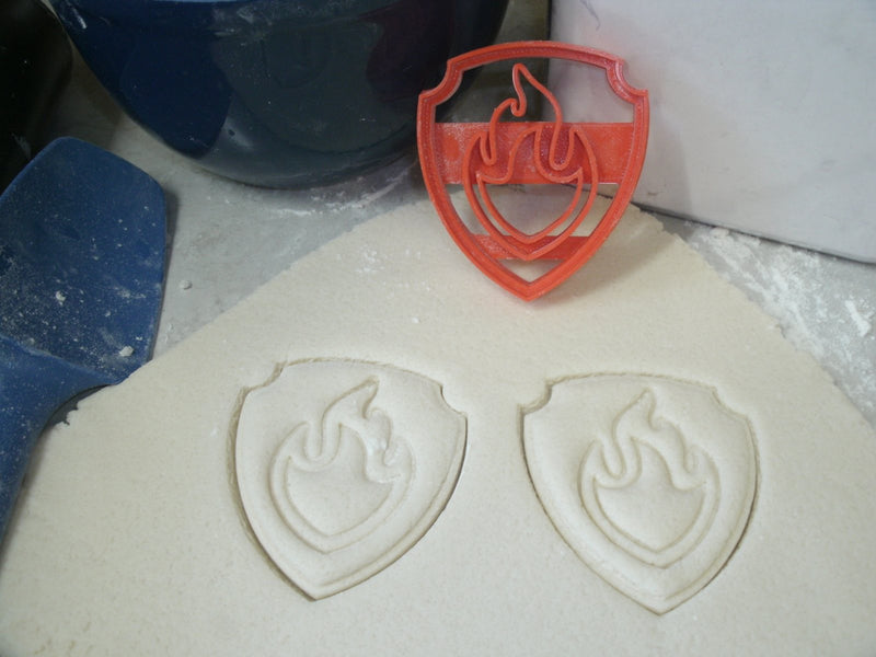 Paw Patrol Logo Badges Shields Tags Set Of 10 Cookie Cutters USA PR1048