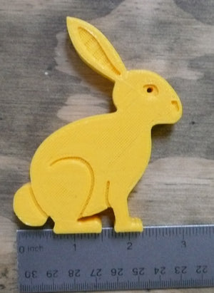 1 pc Easter Bunny Home Decor Holiday Spring Decoration 3D Printed Made in the USA PR205