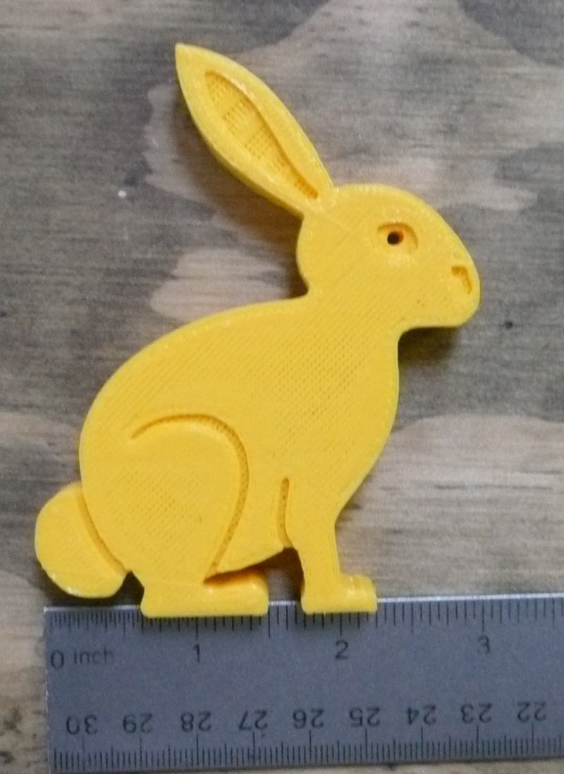 3 pc Set Easter Bunny Home Decor Holiday Spring Decoration 3D Printed Made in the USA PR205-3