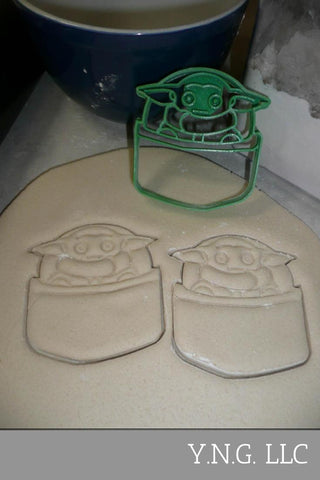 Star Wars Characters Face Helmet Outlines Set Of 3 Cookie Cutters USA PR1328