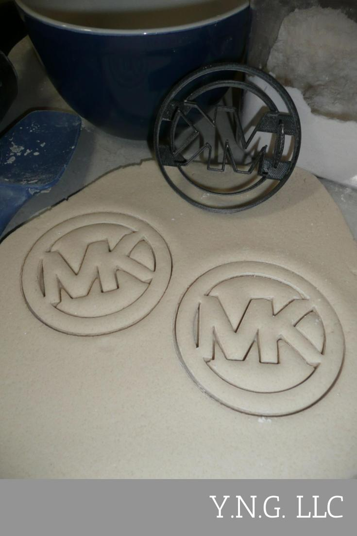 Michael Kors Luxury Fashion Brand MK Logo Cookie Cutter USA PR2884