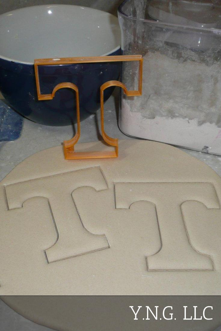 University Of Tennessee Vols T Logo Athletics Cookie Cutter USA PR2351