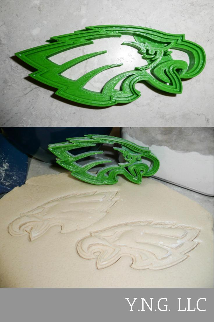 Philadelphia Eagles NFL Football Team Detailed Special Occasion Cookie Cutter Baking Tool Made in USA PR809