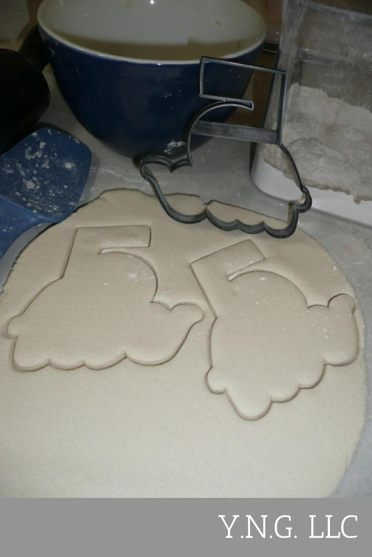 Fancy Numbers With Word Outline 1 One To Ten Set of 10 Cookie Cutters USA PR1288