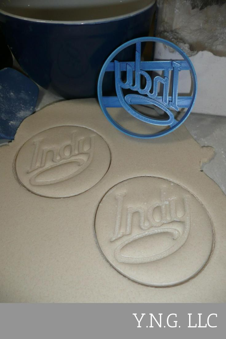 Visit Indy Indianapolis Indiana Crossroads Of America Cookie Cutter USA PR2735