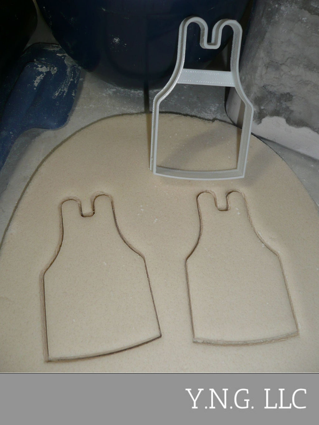 Apron Outline Kitchen Restaurant Chef Baker Cookie Cutter Baking Tool USA PR3402